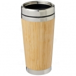 Bambus 450 ml tumbler with bamboo outer
