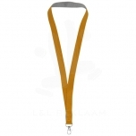 Aru dual-tone lanyard with hook & loop closure