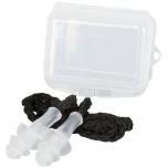 Bazz reusable noise reduction ear plugs in case