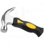 Stubby compact claw hammer