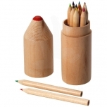 Bossy 12-piece coloured pencil set