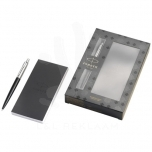 Jotter Bond Street gift set with pen and notepad