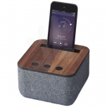 Shae fabric and wood Bluetooth® speaker