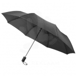 "Gisele 21"" heathered auto open umbrella"