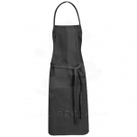 Reeva 100% cotton apron with tie-back closure