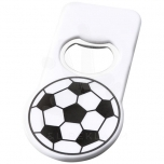 Niki football bottle opener with magnet