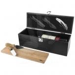 Mino wine box and cheese board set