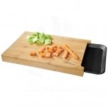 Daelan cutting board with tray