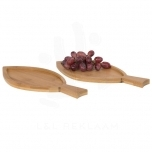 Anna 2-piece bamboo amuse set in fish shape