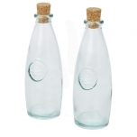 Sabor 2-piece recycled glass oil and vinegar set
