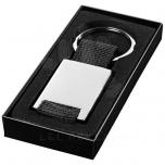 Pablo rectangular webbing keychain