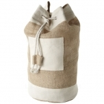Goa jute sailor duffel bag