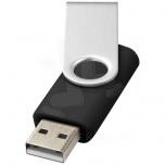 8GB USB-mälupulk pöörleva logoplaadiga