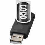 Rotate-doming 4GB USB flash drive