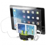 Turf charging station with 4 USB ports