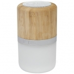 Aurea bamboo Bluetooth® speaker with light