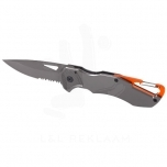 Deltaform knife with carabiner