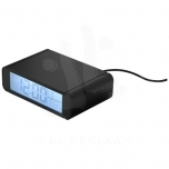 Seconds wireless charging clock