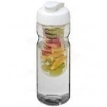 H2O Base® 650 ml flip lid sport bottle & infuser