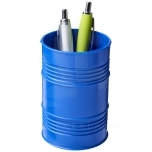 Bardo oil drum style plastic pen pot