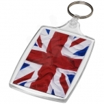 Baiji L6 large keychain with plastic clip