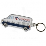 Combo van-shaped keychain