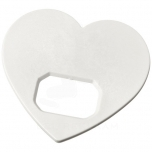 Amour heart-shaped bottle opener