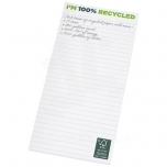 Desk-Mate® 1/3 A4 recycled notepad