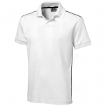 Backhand short sleeve polo
