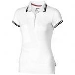 Deuce short sleeve women's polo with tipping