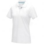 Graphite short sleeve women's GOTS organic polo