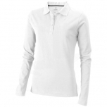 Oakville long sleeve women's polo