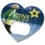 Amour heart-shaped bottle opener
